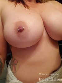 A girl with Very big breasts