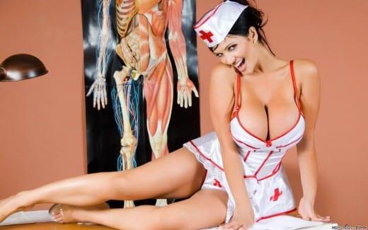 Sexy nurse.