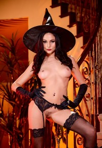 Witch Outfit Ariana Marie Halloween Affair – HDpornstarz