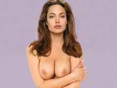 Angelina Jolie Tits Images