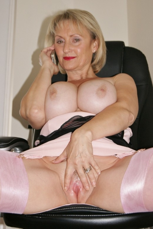Busty amateur mature sex model