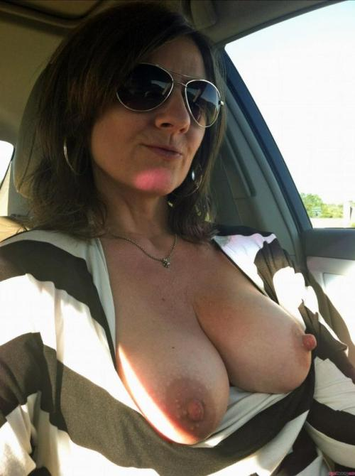 Great tits of my sexy wife