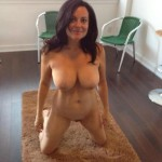 Sweet busty Mature girl fit body