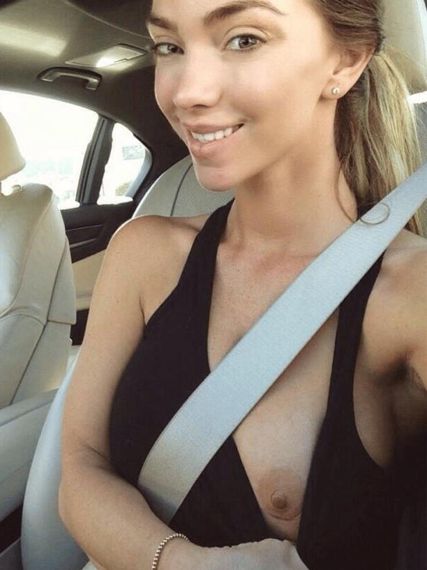 Cute amateur woman