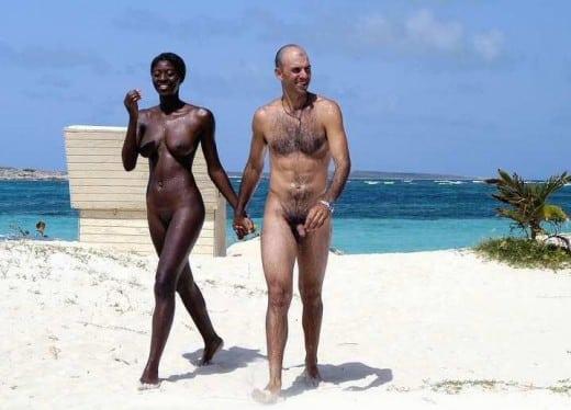 st martin women nude