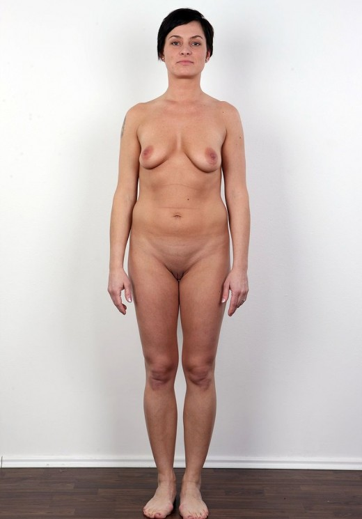 porn short haired brunette amateur