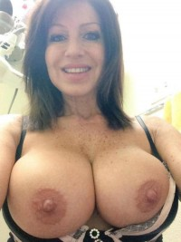 Hot Mature women boasts of big tits