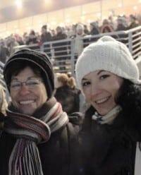 Maria-Antoaneta Plop and Sister Elena Plop