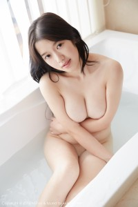 Busty Asian Babe gets clean