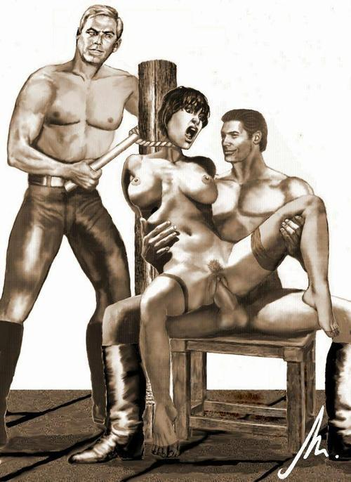 The Fear In Her Eyes — cruel-dominus: During slave inspection after…