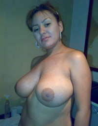 Young MILF babe has wonderful big breasts