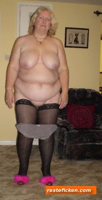 Horny German Mature fat and ugly
