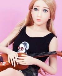 Tiny Breasts Sex Doll Blonde Lady – Anna 145cm