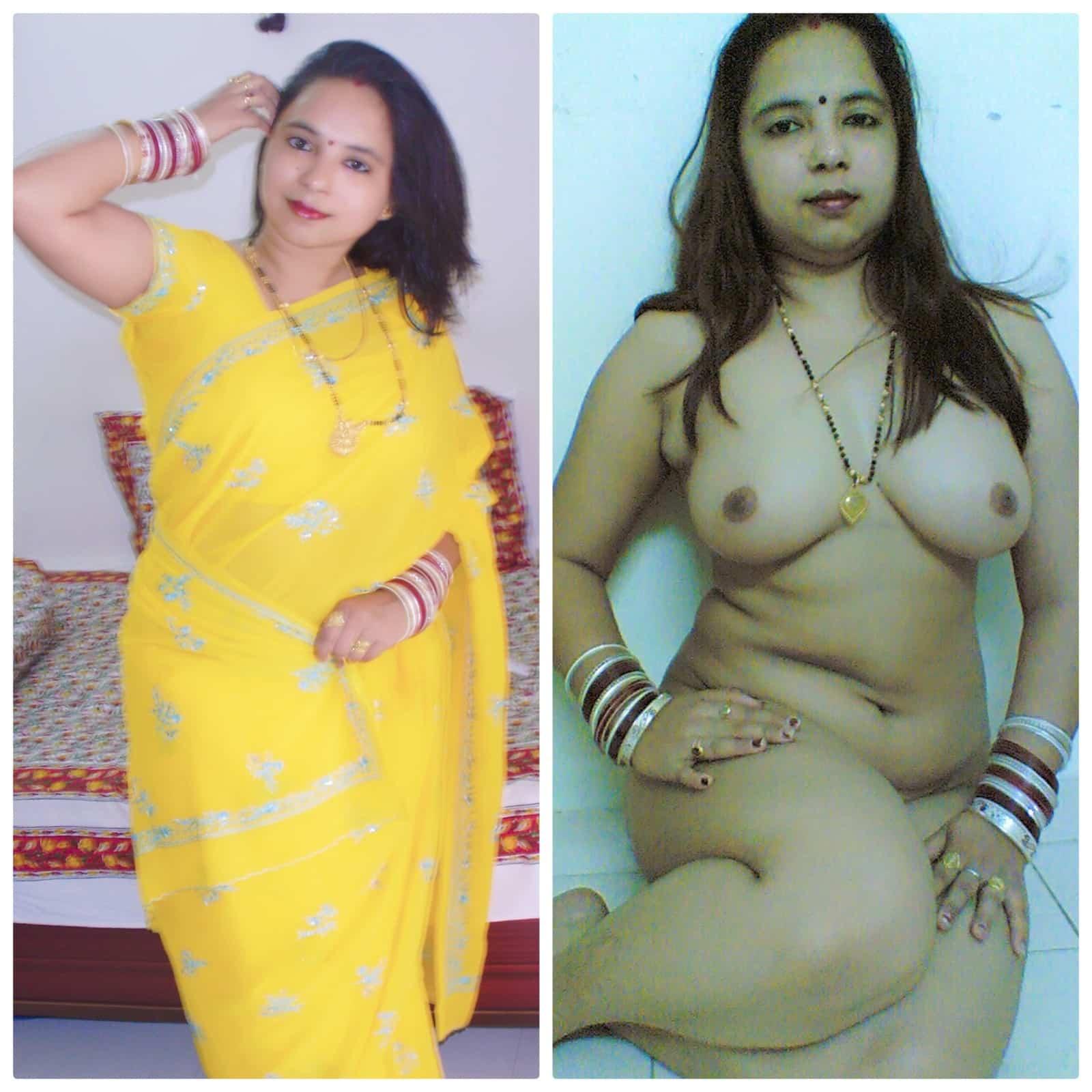 bhabhi Desi newly married