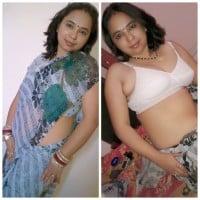 Desi newly married Aunty nude