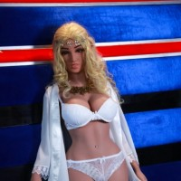 Long Blonde Hair Free delivery ELF Realistic Sex Dolls – Mildred 165CM