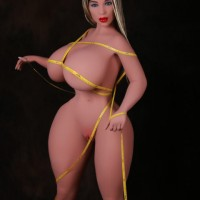 Long Blonde Hair Free delivery Heatable Realistic Sex Dolls – Ava 162CM