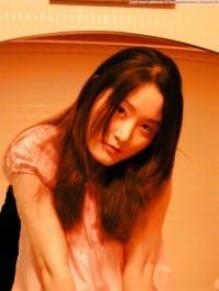 Korean girl nude in public #50