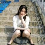 Korean girl nude in public #52