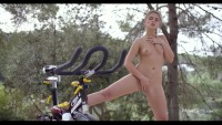 I Want To Ride My Bicycle – WowGirls small tits masturbation – Lesbian HD Porn