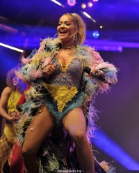 Rita Ora sexy performing at Manchester Pride stage