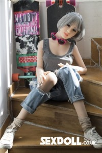 Heatable Adult Sex Doll Adel 158cm