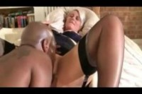 Silver-haired British MILF fucked by a BBC – Myhotwifetube