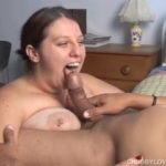 Big tits BBW loves to suck cock and eat cum – BBW Tube