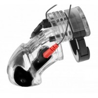 Electro Lockdown Estim Male Chastity Cage – Male Chastity Devices