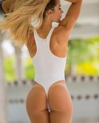 Awesome swedish chick got awesome ass