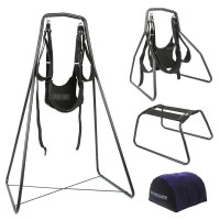 Swing Stand with Wrist Restraints Clamp Belt for Family Use