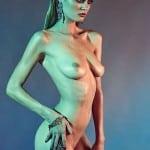 Signe Rasmussen fully nude photoshoot by Manuel Pandalis | Celebs Dump