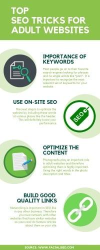 Top SEO Tricks For Adult websites