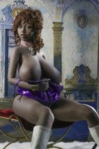Black Skin Big Tits Life like Sex Doll – YL 160cm F-Cup Valentina – LoveDoll