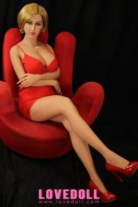 Blonde Short Hair TPE Sex Doll – WM 168cm F-Cup Doris – LoveDoll