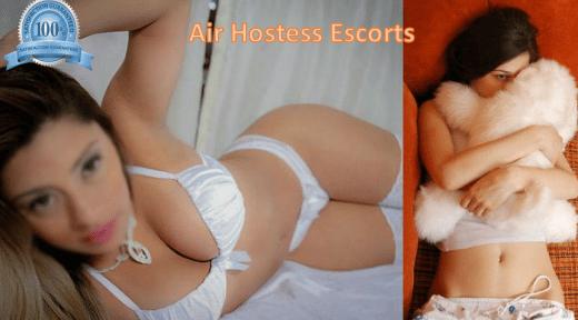 VIP air hostess model