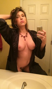 Picture of magnificent 18 years old amateur woman