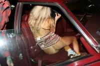 Charlotte McKinney Pussy Slip for Halloween
